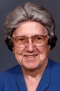 Sr Evangeline Thomas